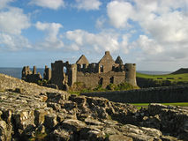 Dunluce Castle 14. Dunluce Castle on the Northern Ireland coast Royalty Free Stock Images
