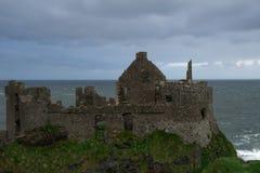 Dunluce Castle, Antrim, Βόρεια Ιρλανδία Στοκ εικόνα με δικαίωμα ελεύθερης χρήσης