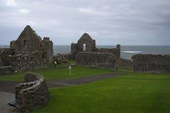 Dunluce Castle, Antrim, Βόρεια Ιρλανδία Στοκ Εικόνες