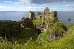 Dunluce Castle, Antrim, Northern Ireland. Royalty Free Stock Images