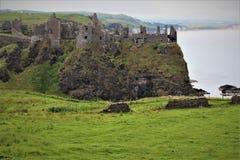 Dunluce Castle Northern Ireland royalty free stock image