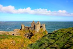Dunluce Castle, Ireland Stock Images