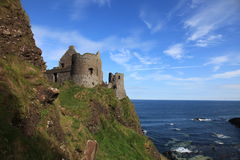 Dunluce Castle North Ireland stock photography