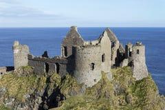 Dunluce Castle. Northern Ireland, Great Britain Stock Photos