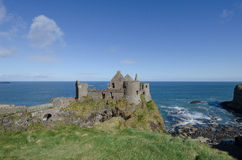 Dunluce Castle, Northern Ireland Royalty Free Stock Photography