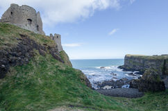 Dunluce Castle, Northern Ireland Stock Images