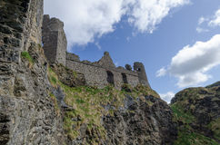 Dunluce Castle, Northern Ireland Stock Image
