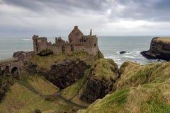 Dunluce castle - Northern Ireland Stock Image