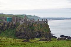 Dunluce Castle, Northern Ireland Royalty Free Stock Images