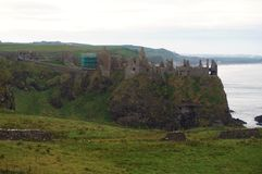 Dunluce Castle, Northern Ireland Stock Photography