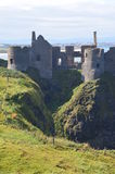 Dunluce Castle. The ruins of dunluce castle in northern ireland Stock Image