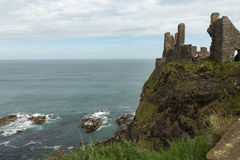 Dunluce Castle Royalty Free Stock Photo