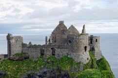Dunluce Kasztel, Irlandia Pólnocna Obraz Royalty Free