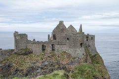 Dunluce slott Royaltyfri Fotografi
