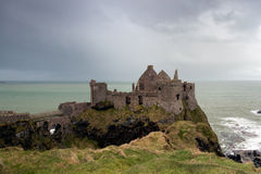 Dunluce slott Fotografering för Bildbyråer
