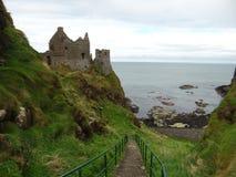 Dunluce slott Royaltyfri Bild