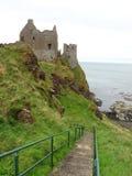 Dunluce slott Royaltyfria Bilder