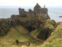 Dunluce slott Arkivbilder