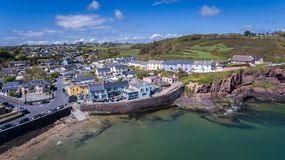 Dunmore East. county Waterford. Ireland royalty free stock images