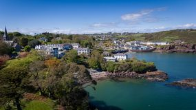 Dunmore East. county Waterford. Ireland stock photography