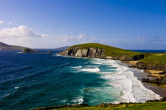 Dunmore Head in Dingle Peninsula. (County Kerry, Ireland Royalty Free Stock Photo