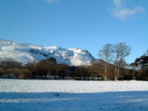 Dunmore Hill winter. Dunmore Hill, Fintry, Scotland on a winters day Royalty Free Stock Image