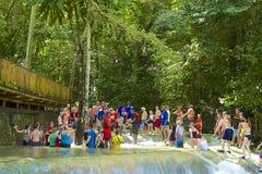 Dunn's river falls, Jamaica, Caribbean Stock Photography