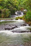 Dunn's River waterfalls.Landscape in a sunny day Royalty Free Stock Photography