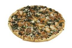 Dunne korstpizza Stock Fotografie