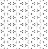 Dunne lineaire cijfers, vector zwart-wit naadloos patroon Royalty-vrije Stock Afbeelding