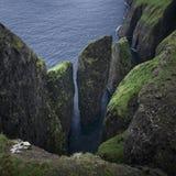 Dunnesdrangar rock formations on Vagar, Faroe Islands