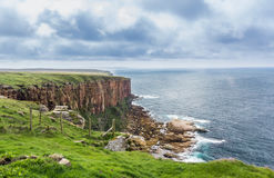 Dunnet Head cliffs Stock Photos