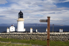 Dunnet Head Lighthouse Royalty Free Stock Image