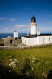 Dunnet Head Lighthouse, Scotland Stock Photo