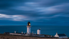 Dunnet Head Lighthouse, Scotland Royalty Free Stock Photography