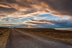 Dunnet Head sunset Royalty Free Stock Photo