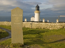 Dunnet Lighthouse Stock Image