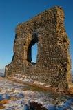 Dunnideer slott Arkivfoton