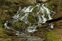 Dunnings Springs Waterfall Stock Photography