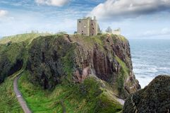 Dunnotar castle, Stonehaven Stock Image