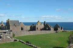 Dunnottar城堡在阿伯丁 库存照片