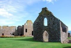 dunnottar城堡的教堂 库存图片
