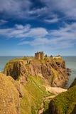 Dunnottar城堡, Aberdeenshire,苏格兰 免版税库存照片