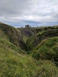 Dunnottar城堡, Aberdeenshire,苏格兰 库存图片