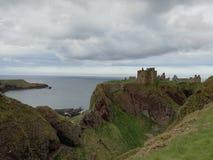 dunnottar的城堡 免版税库存图片