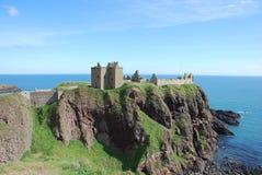 dunnottar的城堡 免版税图库摄影