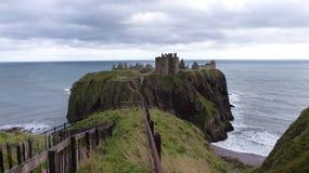 dunnottar的城堡 免版税库存照片