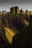 dunnottar的城堡 库存照片