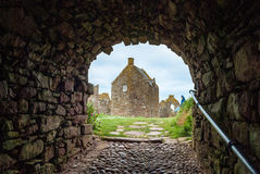 dunnottar的城堡 库存图片