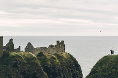 dunnottar的城堡 图库摄影